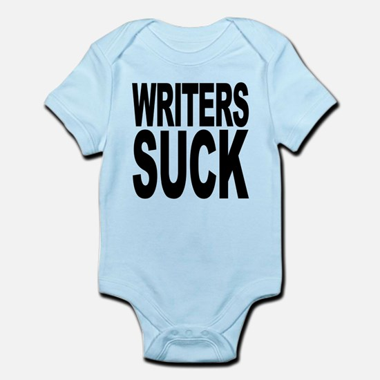 writerssuckblk.png Infant Bodysuit