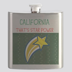 CALIFORNIA, THATS STAR POWER. Flask