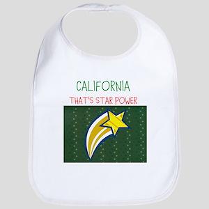 CALIFORNIA, THATS STAR POWER. Bib