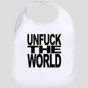 unfucktheworldblk Bib