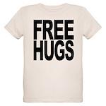 freehugs-blk Organic Kids T-Shirt