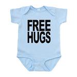 freehugs-blk Infant Bodysuit