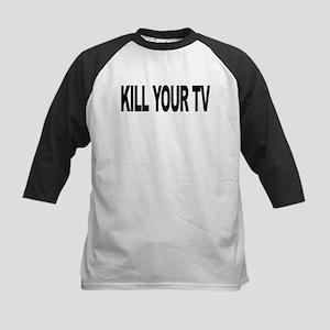killyourtvlong Kids Baseball Jersey