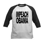 impeachobama Kids Baseball Jersey