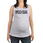 impeachobamalong Maternity Tank Top