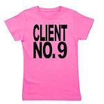 clientno9mssblk Girl's Tee