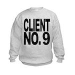 clientno9mssblk Kids Sweatshirt