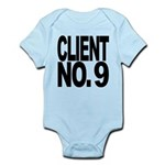 clientno9mssblk Infant Bodysuit