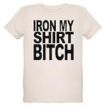 ironmyshirtbitchblk Organic Kids T-Shirt