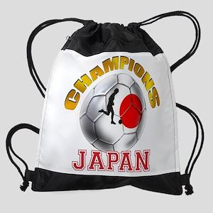Japanese Soccer Drawstring Bag