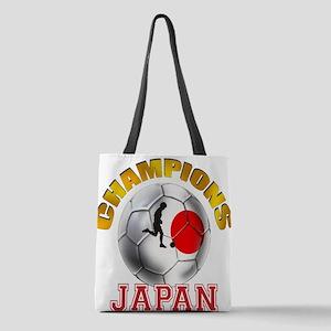 Japanese Soccer Polyester Tote Bag