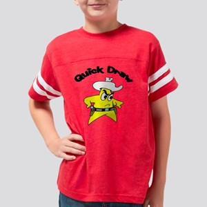 quick draw Youth Football Shirt