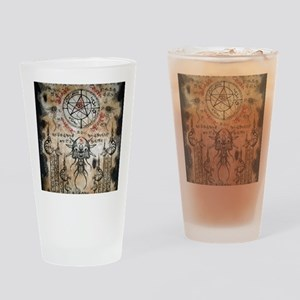 The Elder Sign Drinking Glass