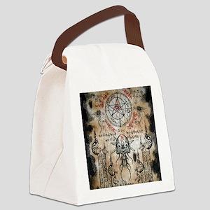The Elder Sign Canvas Lunch Bag