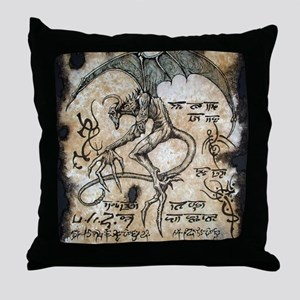 The Nightguant Throw Pillow