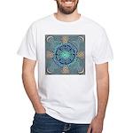 Celtic Eye of the World White T-Shirt