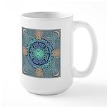 Celtic Eye of the World Large Mug