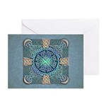 Celtic Eye of the World Greeting Cards (Pk of 10)