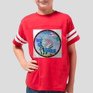 EatMyBubblesNoID Youth Football Shirt