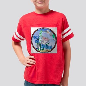 Eat My Bubbles BRIGHT  Youth Football Shirt