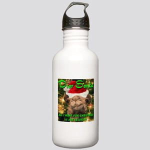 Dear Santa Hump Day Camel Job Security Stainless W