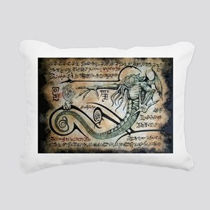The Rituals of Cthulhu Rectangular Canvas Pillow
