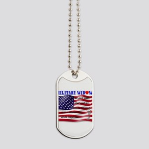 Never Forgotten Flag2MWBFC (2) Dog Tags