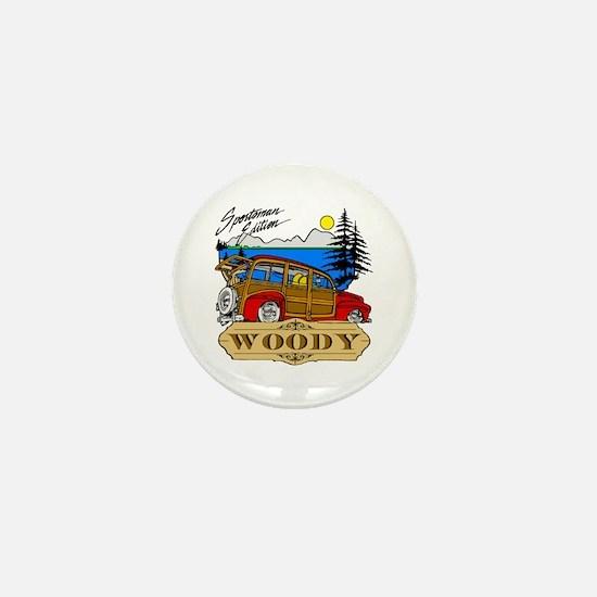 Woody Sportsman Edition Mini Button
