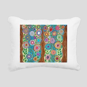 Tree of Life Rectangular Canvas Pillow