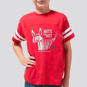 Beagle Mutts for Mitt Youth Football Shirt