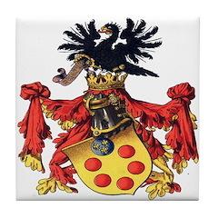 Medici Coat of Arms Tile Coaster