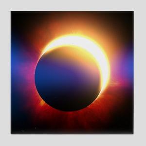 Solar Eclipse Tile Coaster
