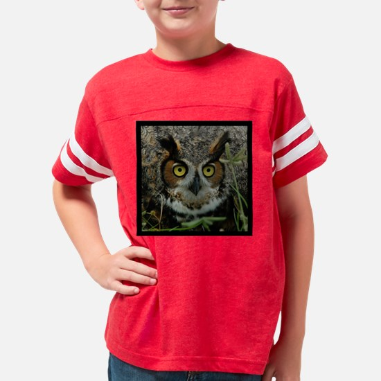 owl-Tile Youth Football Shirt