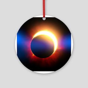 Solar Eclipse Ornament (Round)
