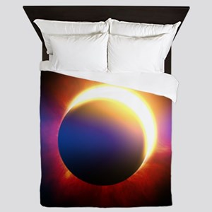 Solar Eclipse Queen Duvet