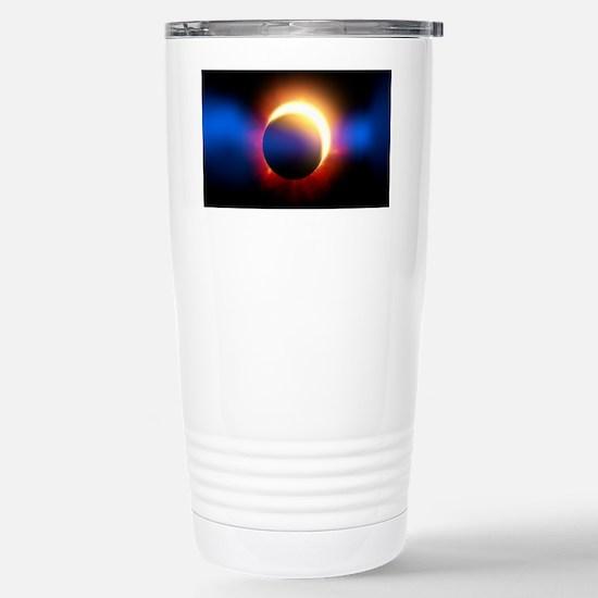 Solar Eclipse Stainless Steel Travel Mug