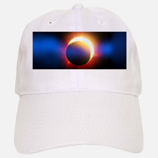 Solar Eclipse Baseball Baseball Cap