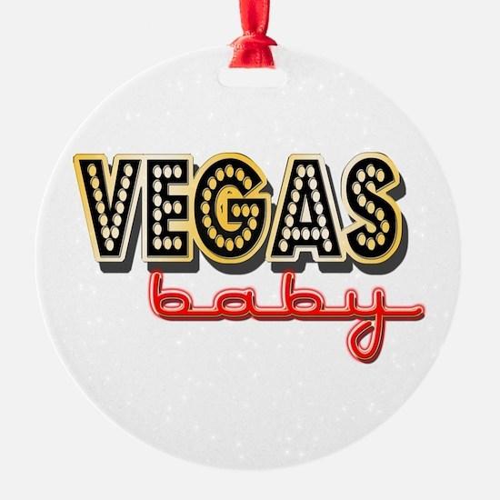 Vegas Baby Ornament