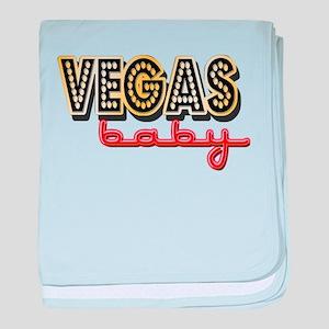 Vegas Baby baby blanket