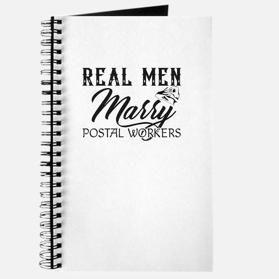 Real Men Marry Postal Worker Journal
