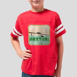 baxter_dog Youth Football Shirt