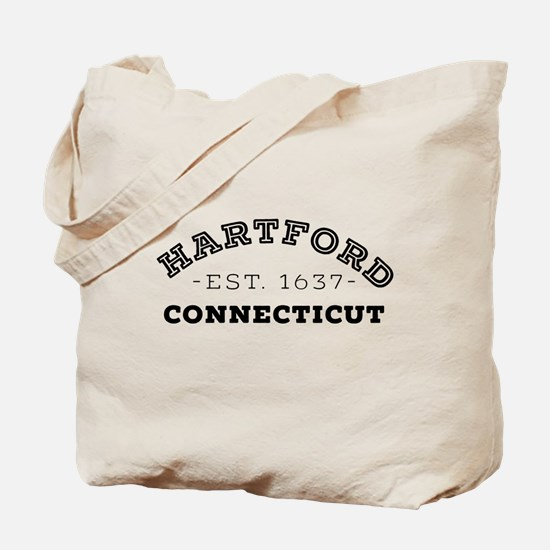 Hartford Connecticut Tote Bag