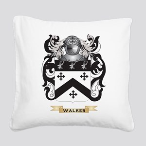 Walker 2 Family Crest (Coat of Arms) Square Canvas
