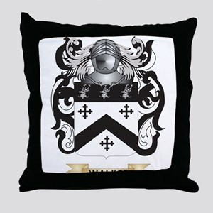 Walker 2 Family Crest (Coat of Arms) Throw Pillow