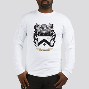 Walker 2 Family Crest (Coat of Arms) Long Sleeve T