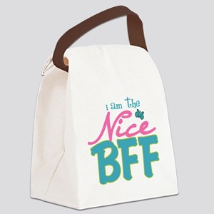 I am the nice BFF Canvas Lunch Bag
