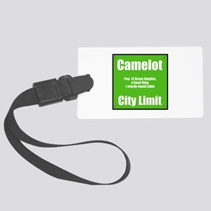 Camelot City Limit Large Luggage Tag