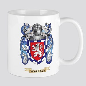 Wallace Family Crest (Coat of Arms) Mugs