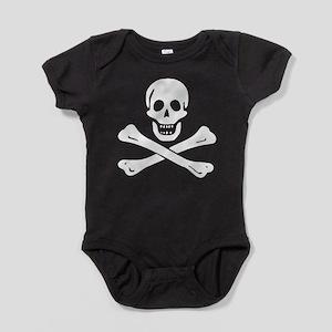 Black Sam Bellamy Jolly Roger:Pirate Flag Baby Bod