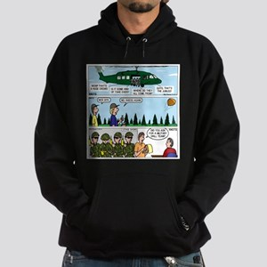 Helicopter - Tent - Drill Team Hoodie (dark)